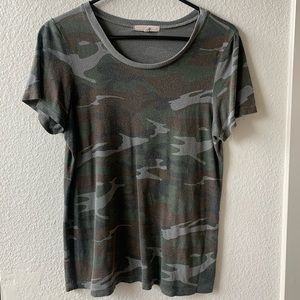 Truly Madly Deeply Camo Tee